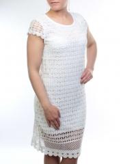 8818 Платье кружевное женское (95% хлопок, 5% полиэстер)