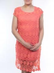 8826 Платье кружевное женское (95% хлопок, 5% полиэстер)
