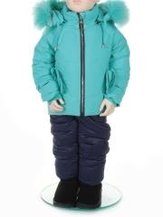 6168 Костюм зимний детский Shengfeng на рост 86 см (на ребенка 18-24 мес)