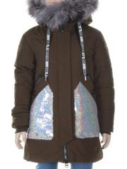 851 Куртка зимняя для девочки MALIYANA