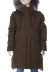 848 Куртка зимняя для девочки MALIYANA