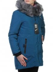 76369 Пальто женское зимнее (холлофайбер, искусственный мех)