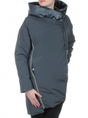 260 Пальто женское свободного кроя Visdeer