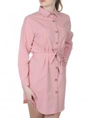 802 Платье хлопковое с воротником Fashion