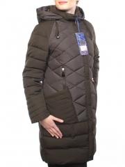 021 Пальто женское зимнее (холлофайбер)