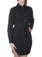 803 Платье хлопковое с воротником Fashion